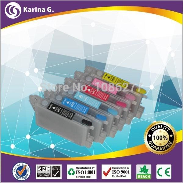 Картридж с чернилами KARINA G 1Set T0491 T0492 T0493/4/5/6 Epson R210 R230 R310 R350 Epson T049 For T0491-T0496 утюг ariete 6244 steam iron