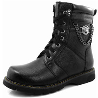 2014 new hot selling winter fashion cotton men's military boots high to help tide Martin boots male British retro high-top boots