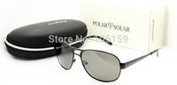 New 2014 Free Shipping Polarized Glasses Stainless Steel Sun Glasses for Men Aviator Sunglasses