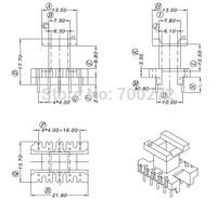 EE22 transfoemer ferrite core and bobbin  YT-2201