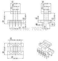 EE22 transfoemer ferrite core and bobbin  YT-2204