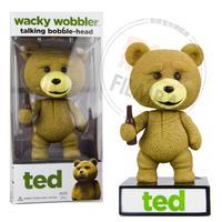 Genuine FUNKO talking teddy bear  movie Ted bobblehead doll model toys