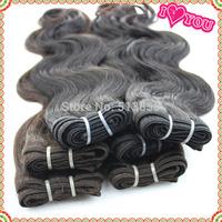 Hot selling Brazilian human hair 1b #2 Rosa hair brazilian body wave 1pcs/lots Good price Brazilian hair weave bundles Grade 5A
