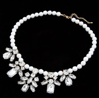 YXSP199      2014 new fashion   Acrylic wild temperament shining jewel   necklace for women