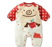 Free shipping 2014 new baby clothing baby romper newborn kids suit romper soft cotton Baby girls boys Kids Rompers A127