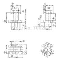 EE25 transfoemer ferrite core and bobbin  YT-2502
