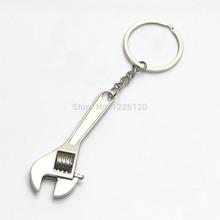 W110 Nuevo llega el Mini lindo metal ajustable Herramienta Creativa Llave Llave CON LLAVERO Wholesale(China (Mainland))