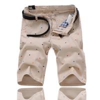 7XL 6XL 5XL 4XL SIZE 48 WAIST 120 HIP 140 Summer men's pants casual shorts Korean Slim printing influx men casual shorts