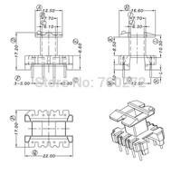 EE22 transfoemer ferrite core and bobbin  YT-2207-1