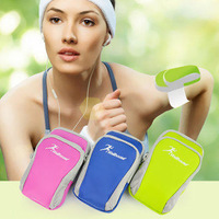 Fashion  Sport Gym Running Armband Arm Strap Mobile Phone Bags package For iPhone 5 5S 5G 4 4S  samsung s3 s4 s5