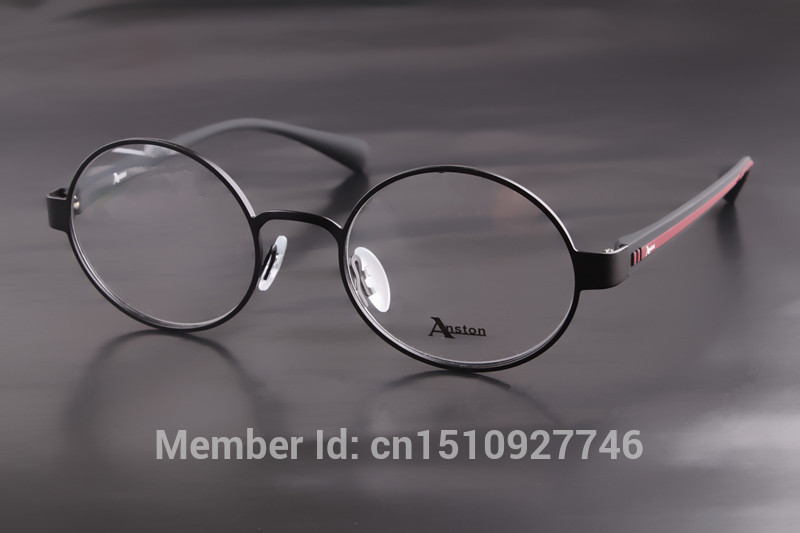 10pcs wholesale 51mm John Lennon Jobs round eyeglass frame vintage eyewear men and women retro fashion be fitted with myopia(China (Mainland))