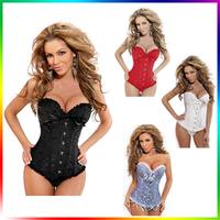 2014 Lady Sexy Corset Slimming Suit Shapewear Body Shaper Magic Underwear Bra Up Women sexy corset shaper Free Shipping