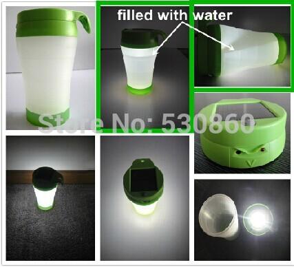 Кружка - лампа на энергии солнца