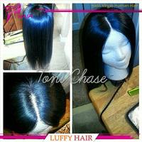 Cambodian Virgin Hair Glueless Silk Top Full Lace Wigs150 Density Silk Base Human Hair Natural Straight For Black Women In Stock