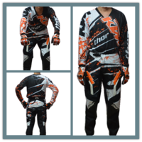 New arrival ktm automobile race clothing/ ktm off-road quick-drying t-shirt+ trousers /dh ride service pants +shirt