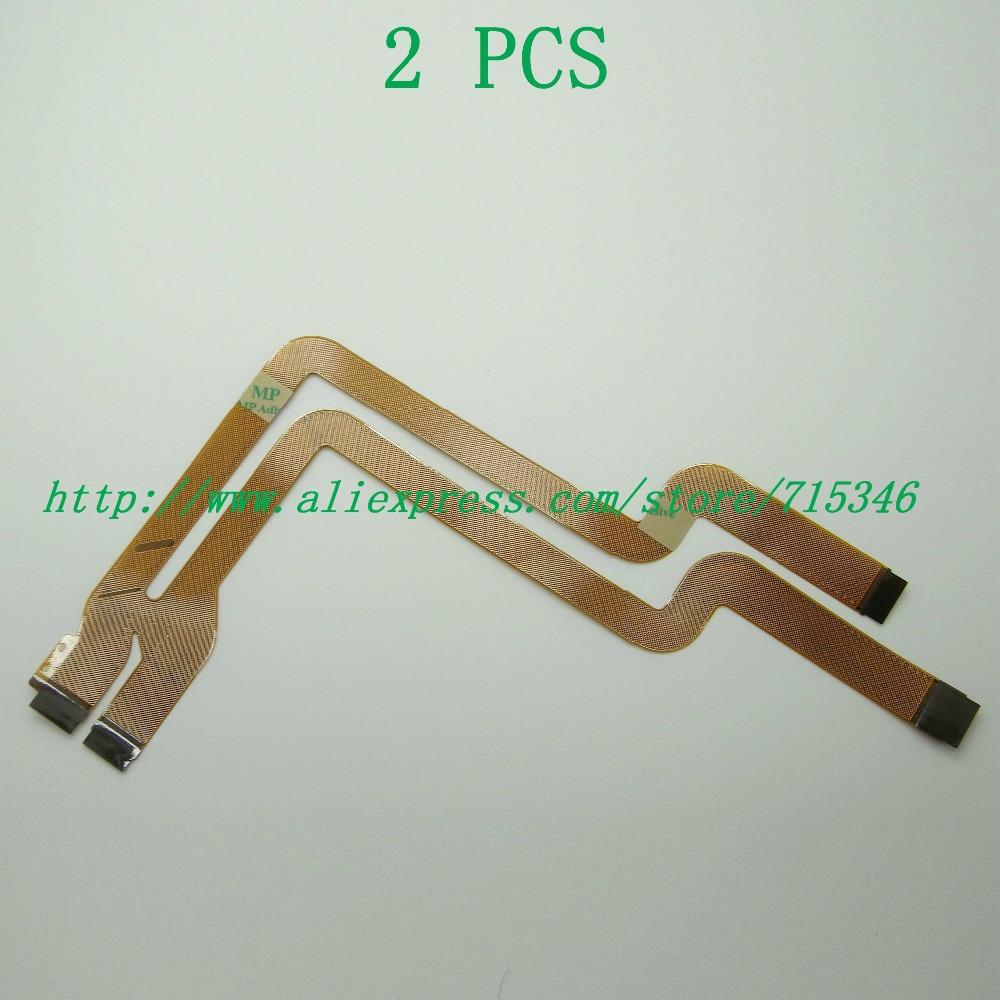 2PCS/ NEW LENS Shaft Flex Cable For Sony Cyber-Shot DSC-F717 DSC-F707 F717 F707 Digital Camera Repair Part(China (Mainland))