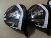1 PC X2 HOT Golf Fairway Wood (#3 or #5) degree with Graphite Shaft R/S Flex Free Headcover freeshipping