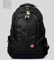 Free Shipping High Quality Black Wenger SWISSGEAR Men's Backpacks School Bags Shoulder Bag Backpack Bags 15-inch 9393-B