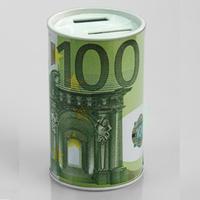digital money box  kids gifts 100EURO design electronic coin counter piggy bank money saving jar promotion gift free shipping