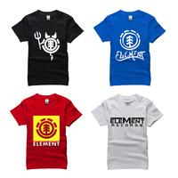 famous x-sports brand element T Shirt cotton 2014 skateboard cool t-shirt man top tee casual man short sleeve plus size