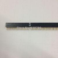 1.27x4.1mm ROUND Female  header 1x10P  Straight Plating:Tin