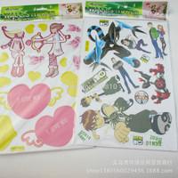 Children DiY stickers cartoon stickers cardboard 0.3125usd/pcs, mini order 20pcs!