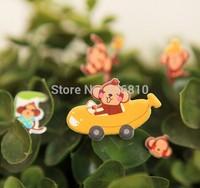 Creative sticker wholesale naughty monkey stereo children's cartoon bubble stickers 0.45usd/pcs, mini order 20pcs!