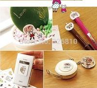 Korean stationery wholesale diary lovers stickers children cartoon stickers 0.828usd/pcs, mini order 5pcs random delivery!