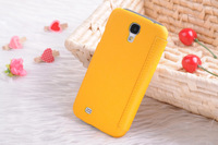 the old silk pu leather and Linen case for Samsung Galaxy S4 I9300