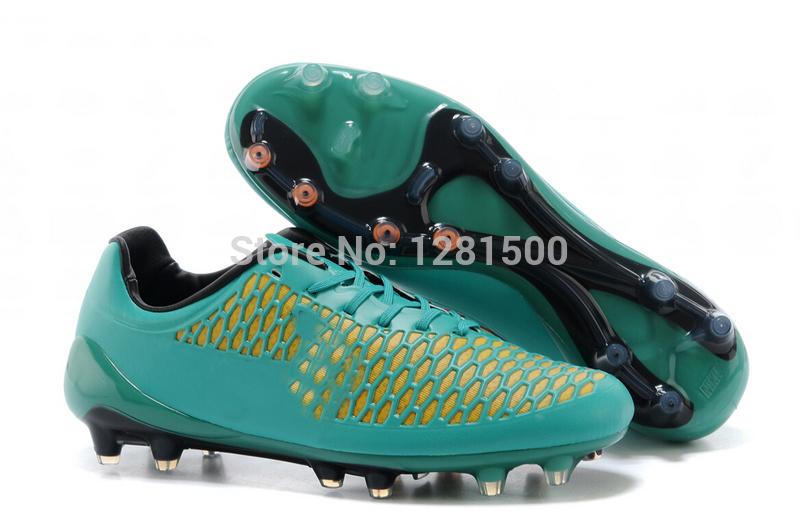 Custom Made 2014 Copa do Mundo de Futebol Shoes FG - Volt / metálico da moeda de ouro / preto / Hiper Soco Botas gratuitas chuteiras frete(China (Mainland))