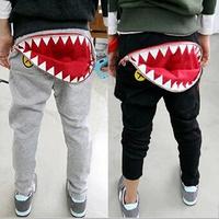 2014 spring and autumn  new  baby haroun pants, children's pants zipper teeth boys girls trousers