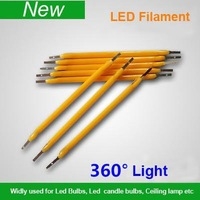 LED Filament Chip 1W for bulb light 17mA 50-60V 130LM/W  Warm White 2800-3300K  Light Emitting Diode