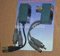 100pcs / 50pairs /  CCTV CAT5 RJ45 Balun Video Audio Power for Camera Passive Video Balun Transceiver