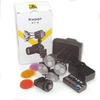 SHOOT brand new XT-4 LED Video Light with battery Photography Lighting studio light camera light photo camera studio flash