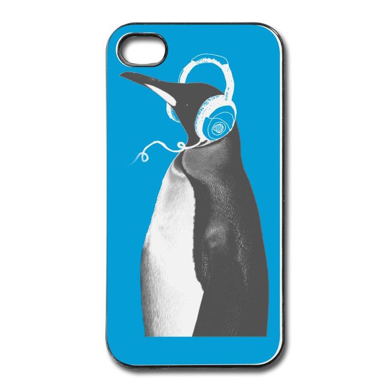 Cover For Iphone 4 PENGUIN HEADPHONES Design Your Own 4 Covers FashionIphone 4 Covers Design Your Own