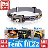 New Fenix HL22 Cree XP-E R4 120LM 3 Colors Head Light Lantern AA Battery 60 Degree Camping Equipment Headlamp Flash Light Head