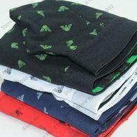 4 pcs/lot Mix Order Mens Underwear Cotton High Quality brand Boxers Shorts cueca Mix color Black White Blue Red