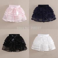 B Summer Children Skirt Plus Size Tutu Skirt Yarn Cake Skirt  The Influx Of Girls Black Skirt And White Skirt
