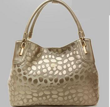 2014 Free Shipping Stone Print Genuine Leather Handbags Women Famous Brands Designer Vintage Bags Women Fashion Bags(China (Mainland))