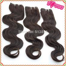 Peruvian rosa hair products color 1b #2 No Shedding and No Tangles Peruvian body wave 4 bundles Virgin human hair 1pcs/lot 5A (China (Mainland))