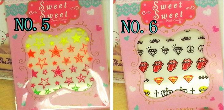 wholesale, Japanese nail stickers tongue /jewel/letter 24 styles 3D glitter nail art Henna past /nail art decorations 120pcs/lot(China (Mainland))