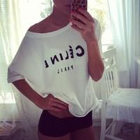 4 designs 2014 New Women Clothing Lulu Co Print Letter Believe Printed Causal T Shirt Women Short Sleeve Gray Tees Crop Top