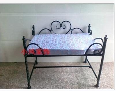 Wrought iron pet Waterloo, Wrought iron pet beds, large small princess dog kennel(China (Mainland))