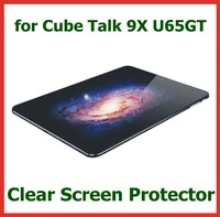 3pcs Clear LCD Screen Protector Protective Film for Tablet PC 9.7 inch Cube Talk 9X U65GT No Retail Package Size 233x166mm