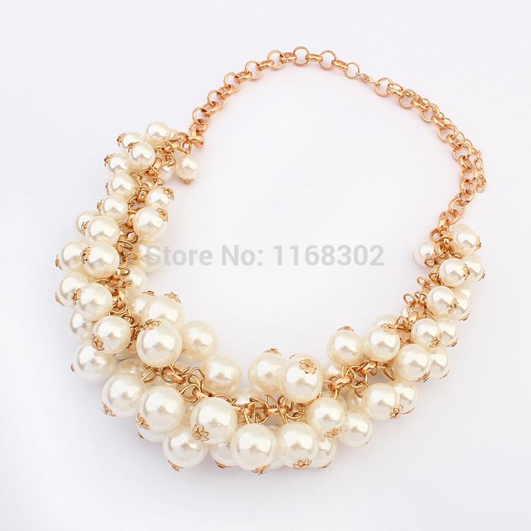 sale bead statement pearl necklace bulk luxury pearl
