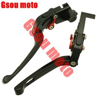 Motorcycle 3D Texture Foldable Brake Clutch Levers For YAMAHA XJ6 DIVERSION ABS 04-11 DIVERSION 09-11 CNC TOP QUALITY BC-49