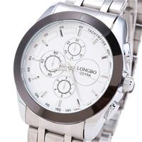 Summer Sales Fashion Jewelry Brand Suppliers Promotional Business Gifts Luxury Men Casual Sport Steel Quartz Watch LONGBO