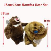 18cm Plush Cartoon Beni Bear Set/Boonie Bear Pair Plush Toys Stuffed Dolls For Kids/Children/Car Plush Pendants
