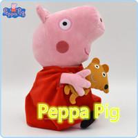 19cm Hot Sale Peppa Pig Pink Pepa Plush Kids Toy Baby Stuffed Animals Dolls Children Gift
