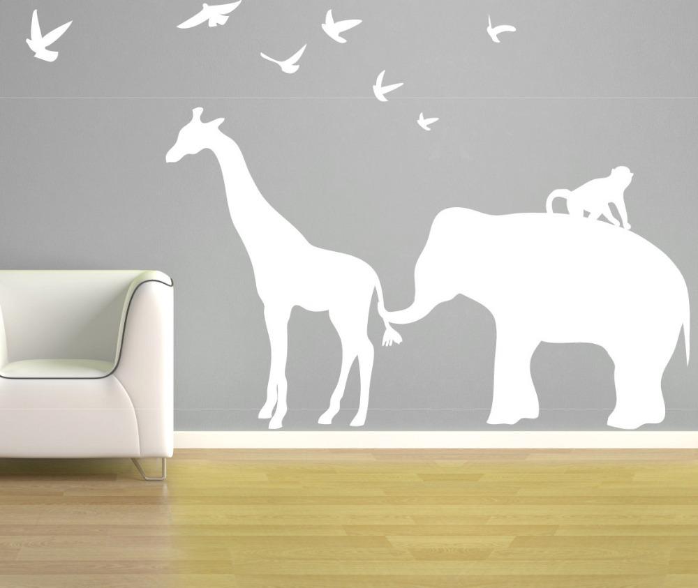 온라인 구매 도매 코끼리 벽 장식 아이 방 중국에서 코끼리 벽 ...
